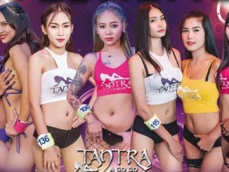 Girls at Tantra A Gogo in Pattaya